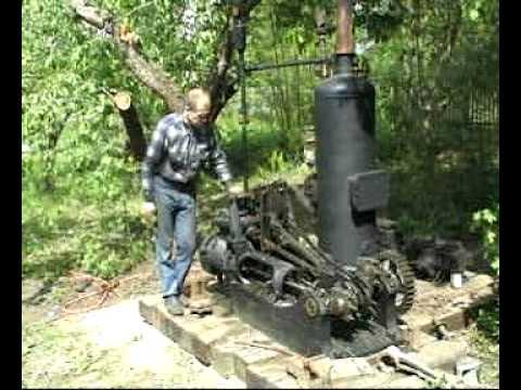 Паровая машина парового крана ПК-6 (The steam engine)