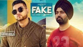 Bande Fake (Full Video) Gopi Sandhu feat. Karan Aujla | Rehaan Records | Latest Punjabi Songs 2017
