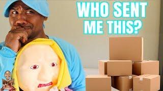 People sending me WEIRD Stuff   PO Box Opening