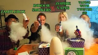 EPIC YOUTUBER CLOUD CONTEST! | W/ The Valyrian Tank by Uwell! |  IndoorSmokers