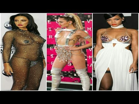 Top Hollywood Actresses and singers who went nude on the red carpet