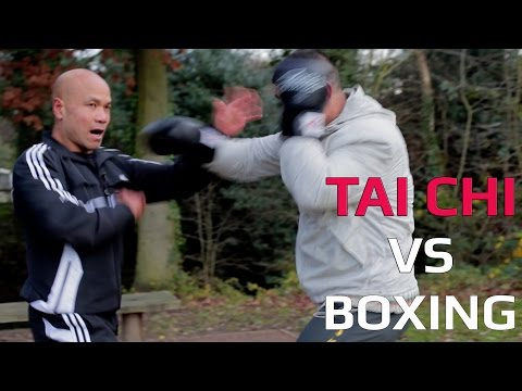 Tai Chi vs Boxing -Tai Chi hand against boxing hand, who's better?