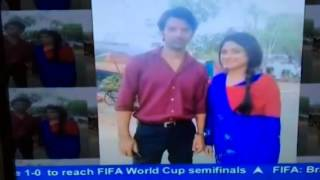 Barun Sobti captured on ABP News (SBS)