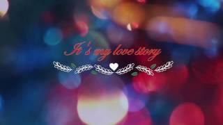 It's my love story ||Romantic song with lyrics || singers Risheeth & Sravan