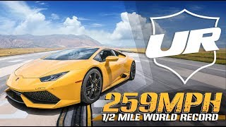 Underground Racing 259 MPH Half Mile World Record