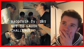 RoadTrip TV: *Bad Jokes* TRY NOT TO LAUGH CHALLENGE!!    WestonVlogs Reacts!!