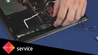 How to Replace the Left Speaker | HP OMEN Notebook PC 15