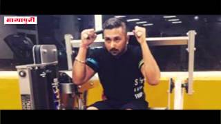 Honey Singh Sweats it out at the Gym for a New Film