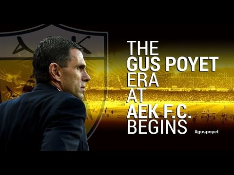 The Gus Poyet Era at AEK F.C.
