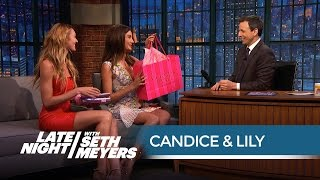 Candice Swanepoel & Lily Aldridge on Nearly Taking Out Ariana Grande with Victoria's Secret Costumes