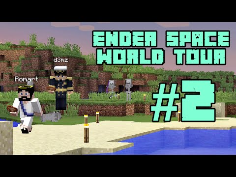Minecraft (Tagalog) EnderSpace Server WORLD TOUR with d3mz! #2