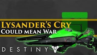 "Destiny - Why the ""Lysander"