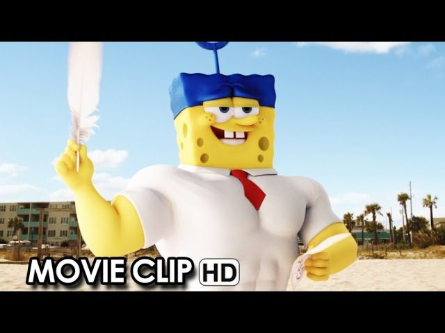 The SpongeBob Movie: Sponge Out of Water Movie CLIP 'Team Work' (2015) HD