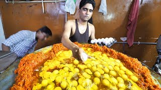 Download Lagu Indian Street Food in Mumbai - 400 Egg BIGGEST Scrambled Eggs + BEST Seafood in Mumbai, India!!! Gratis STAFABAND