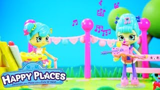 Shopkins | Happy Places The Lil' Shoppies of Happyville - The Talent Show | Cartoons for Children