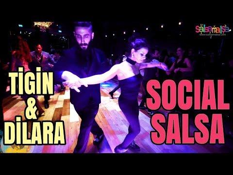 Social Salsa Dancing | Tigin Aytaçoğlu - Dilara Yıldırım | EDF-2018
