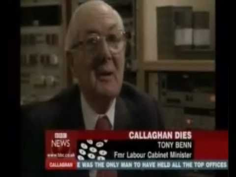 Tony Benn remembers James Callaghan
