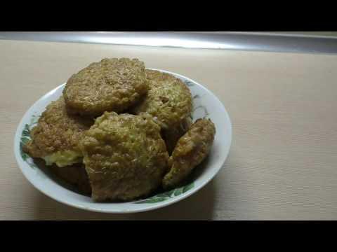 Бризоли с мясным фаршем в вафельных коржах/Ленивые отбивные