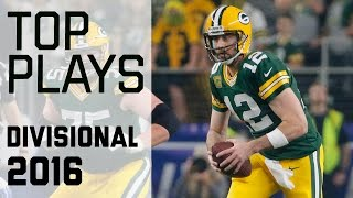 Top Plays of Divisional Round Games!   NFL Highlights
