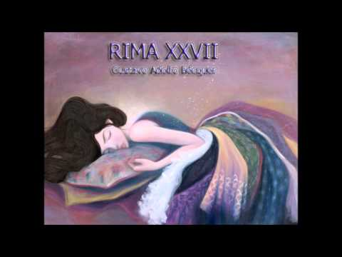 Rima XXVII - Gustavo Adolfo Bécquer