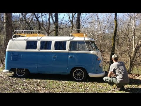 Sunday Drive #1 Mammoth Cave National Park ( 62 VW Bus )