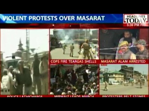 Protest Fumes Over The Arrest Of Separatist Masarat Alam