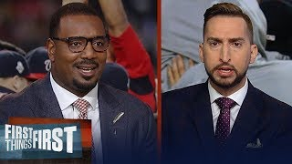 Chris Canty & Nick Wright react to Nationals shocking World Series win | MLB | FIRST THINGS FIRST