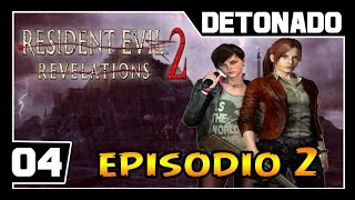 Resident Evil Revelations 2 - Episodio 2 - Parte #8 - MONSTROS INVISIVEIS