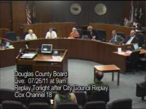 Board of County Commissioners, Douglas County Nebraska, July 26, 2011 Meeting