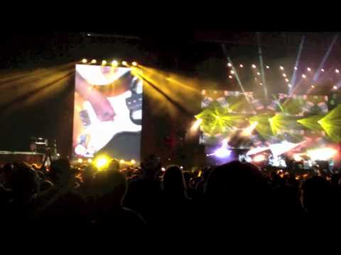 Amazing John Squire guitar solo, Fool's Gold, Stone Roses at V Festival 2012, Chelmsford