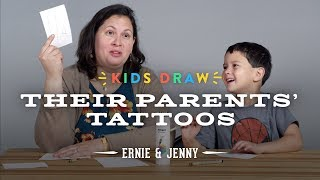 Ernie Designs a Tattoo for His Mom   Kids Draw   Cut