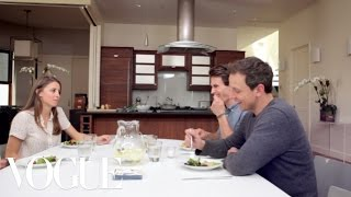 Seth Meyers Shares a Little Family Secret  - Elettra