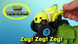 Blaze and the Monster Machines Theme Song Zeg Sing A Long Song