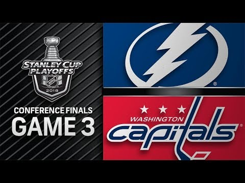 Tampa Bay Lightning vs Washington Capitals – May. 15, 2018 | Game 3 | Stanley Cup 2018. Обзор