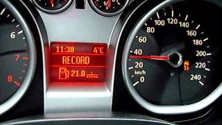 Ford Focus 2.0 0-150 km/h