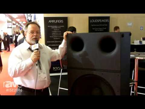 ISE 2016: PRO Audio Technology Details Display of Speakers in Their 2016 ISE Stand
