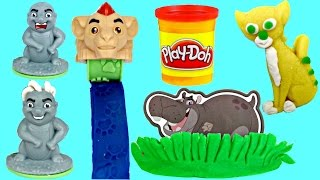 LION GUARD Kion & Friends Play-doh Playset Molds | Toys Unlimited