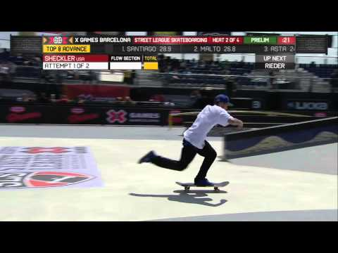 Ryan Sheckler SLS Elims 8.5