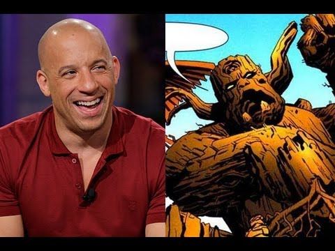 Vin Diesel To Voice Groot In GUARDIANS OF THE GALAXY - AMC Movie News