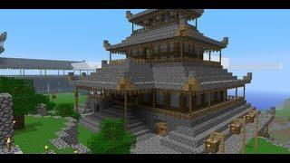 Крутые Дома на сервере Майнкрафт от IVAN GOD