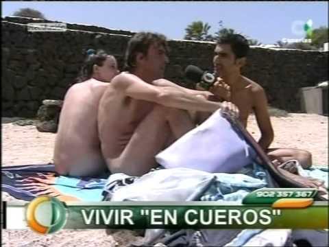 """Jesús Cosano en """"Canarias Directo"""", Vtr: Nudismo, naturismo y pasotismo."""