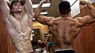 Back Demolition   Full Workout w/ Steven Cao and Dylan *Smurf* Mckenna