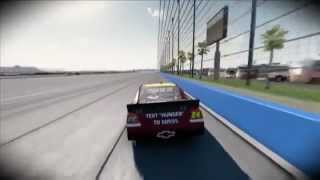 NASCAR The Game: Inside Line - Lap around Fontana with Jeff Gordon