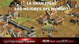 LA GRAN FINAL THE VIPER VS DAUT EPICO EN ARENA AGE OF EMPIRES 2