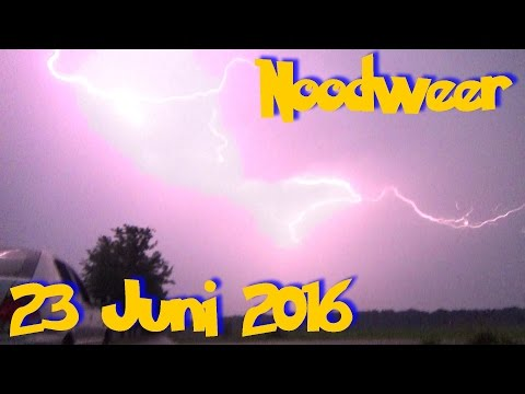 Noodweer 23 Juni 2016
