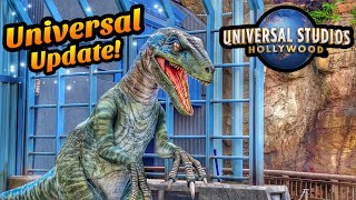 Nintendo, Jurassic World & Secret Life of Pets! | Universal Studios Hollywood Update