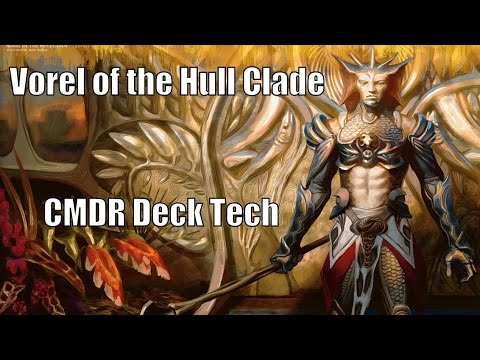 John's Vorel of the Hull Clade CMDR Deck [EDH / Commander / Magic the Gathering]