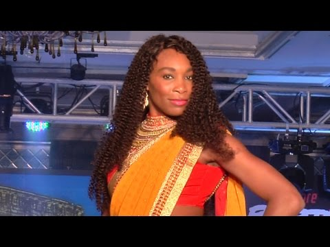 Venus Williams' dance at Bangalore Raptors Event - 2014