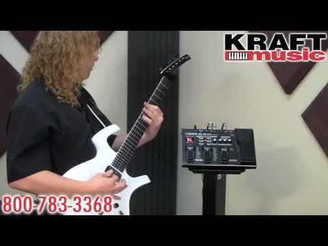 Kraft Music - Boss ME-25 Effects Pedal Demo with Johnny DeMarco