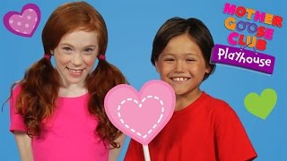 Today Is the Day for Valentines | Mother Goose Club Playhouse Kids Videos